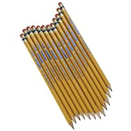 Write Dudes USA Gold Premium Cedar No. 2 Pre-Sharpened Pencils 12-Count (DDR56)