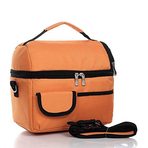 Primi 8L impermeabile borsa per il pranzo Tote picnic bag Fresh Ice Pack (arancione)
