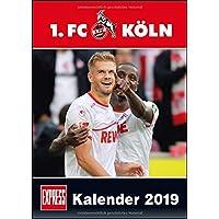 1. FC Köln 2019 - Fußball-Kalender 2019 - Fankalender - 29,7 x 42 cm