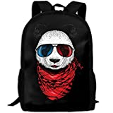 Hip-hop Panda Outdoor Casual Shoulders Multipurpose Backpack Fantasy Shoulder Bag School Backpack Travel Bags Laptop Backpack For Unisex