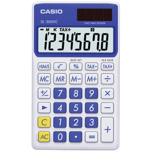 Casio SL 300VC Standard Function Calculator