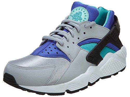 Nike Womens Wmns Air Huarache Run, Lupo Grigio / Lt Rtr-artsn Tl-prsn V, 7 Us