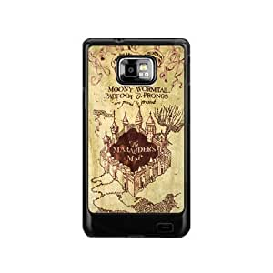 Personalized design Marauder's Map Harry Potter Movie Series SamSung Galaxy S2 I9100 Case Cover