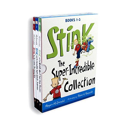 - Stink: The Super-Incredible Collection: Books 1-3