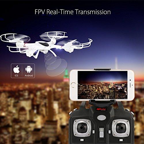 DBPOWER MJX X400W FPV Drone with Wifi Camera Live Video Headless Mode 2.4GHz