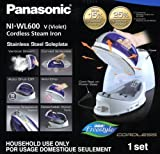 Panasonic 360º Freestyle Cordless Iron with Carrying Case Violet