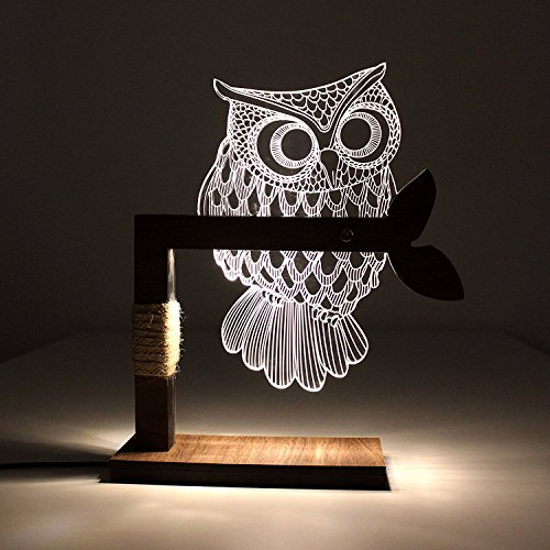 Owl Shaped Patio Lights in Florida - 3