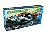 Scalextric Grand Prix Formula One Analog Slot Car Analog 1:32 Race Track Set C1385T