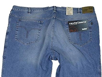 Jeans-Hose Revils stone washed Übergröße, amerik. Hosengröße in inch 62 30   Amazon.de  Bekleidung f19df35000