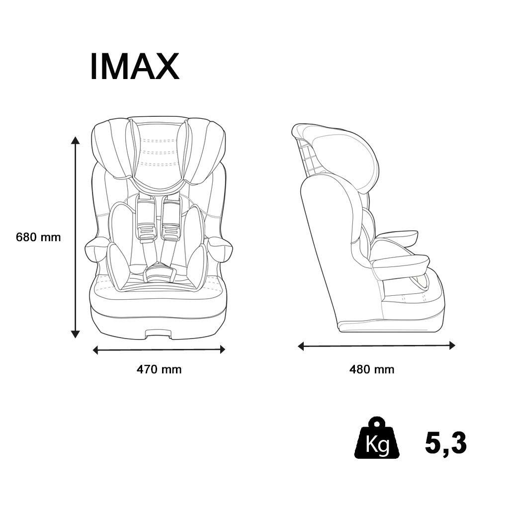 2 coloris Rehausseur avec harnais IMAX Groupe 1//2//3 Paw Patrol