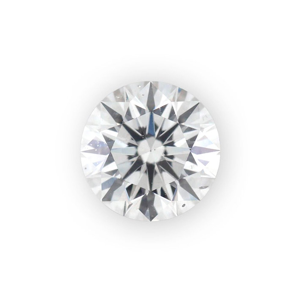 0.045 ct Round Brilliant Cut 2.30 mm G SI2 Loose Diamond Natural Earth-mined