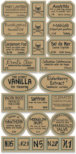 Apothecary Labels 2/Pkg-Chemistry