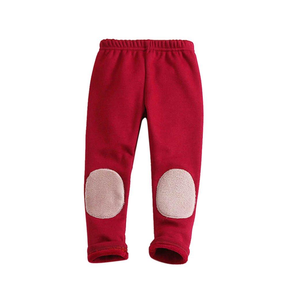 Zerototens Baby girl Trousers Toddler Jogging Bottoms autumn winter Kids Boys Girls Fleece Pants Tracksuit Training Sweatpants Girl Skinny Pencil Pants 1-6 Years Old