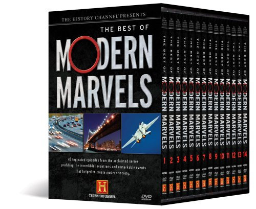 The History Channel Presents The Best of Modern Marvels by A&E Home Video (New REleaset)