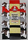Gourmet Chef Animal (Cow) Shaped Corn on the Cob Holders- *2 pack*- (8 Sets)