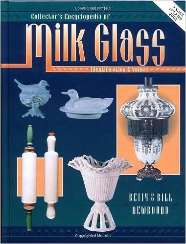 how to identify milk glass
