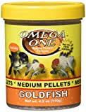 Omega One Goldfish Medium Pellets 4.2oz