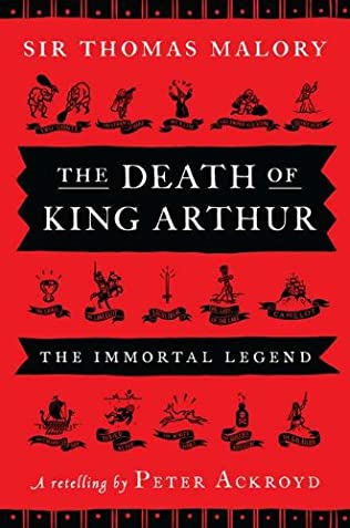 book cover of The Death of King Arthur