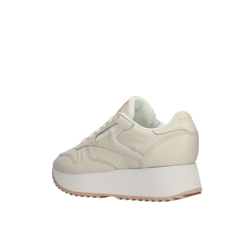 Cl Femme Leather Chalk Mode Nubuck Baskets Chaussures Reebok