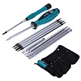 Best unknown Brand Laptops - 10Pcs Precision Magnetic Screwdriver Set Phillips Slotted Star Review