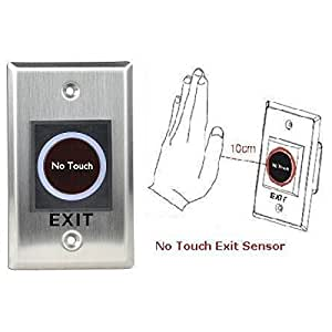 Amazon Com Infrared Sensor Switch No Touch Door Exit Release Button Access Control Access