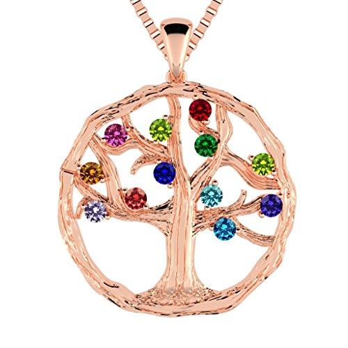 NANA Tree of Life Mother's Pendant 1-12 St. w/1mm 22