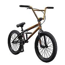 "Mongoose Legion L80 20"" Freestyle BMX Bike, Silver"