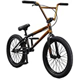 Mongoose Legion Freestyle BMX Bike Line for Beginner to Advanced Riders, Featuring Hi-Ten Steel or 4130 Chromoly Frames with Micro Drive 25x9T BMX Gearing and 20-Inch Wheels, Multiple Colors Available