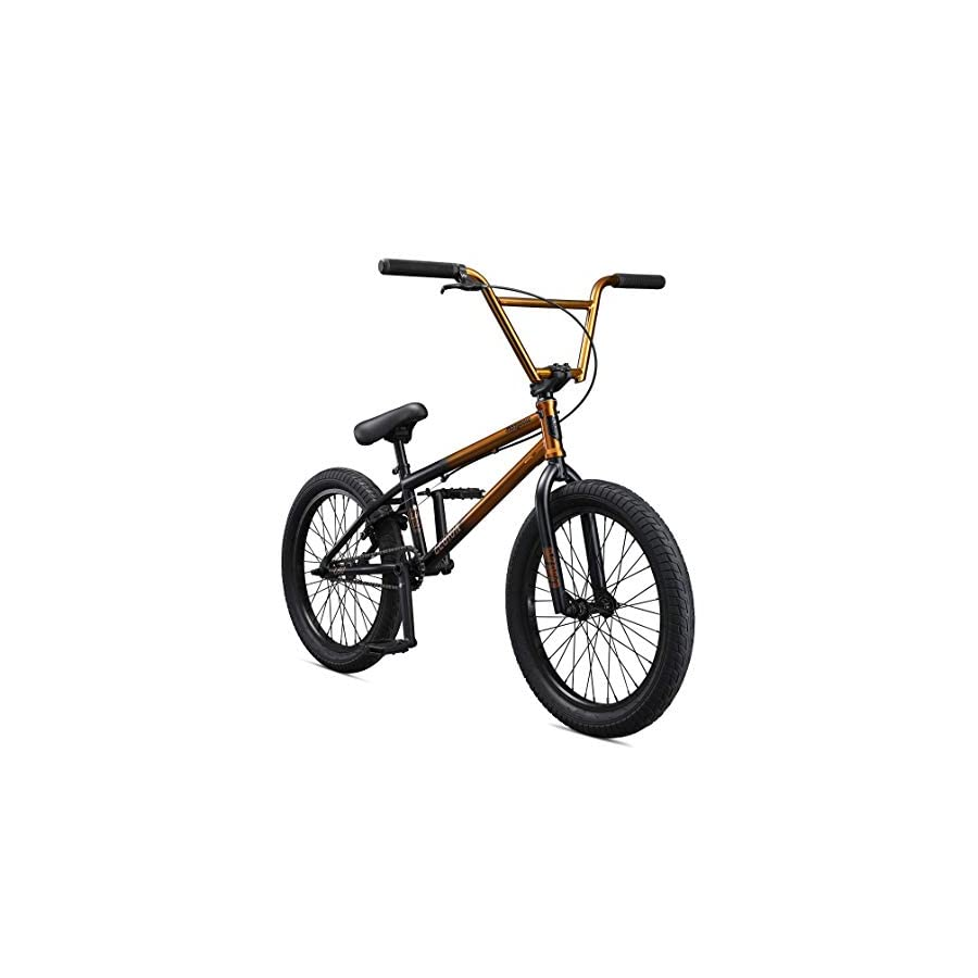 Mongoose Legion L80 Boy's Freestyle BMX Bike, 20 Inch Wheels