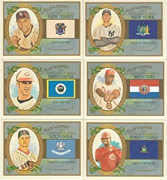 2008 Topps Allen and Ginter Baseball Card #1 Alex Rodriguez