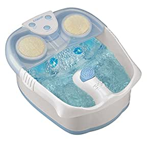 Conair Foot / Pedicure Spa with Waterfall, Lights and Bubbles; Blue