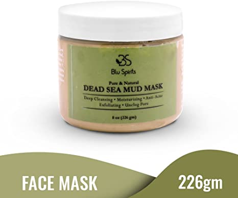 Amazon Com Dead Sea Mud Mask For Face Natural Pore Minimizer