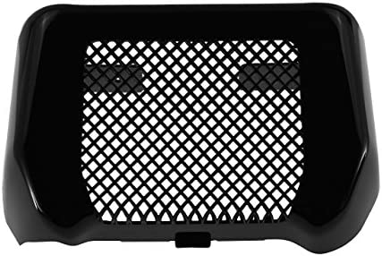 Amazon Com Motorcycle Oil Cooler Cover Case With Bracket Fit For Harley Touring Road King Road Street Glide Freewheeler Flhr Flhx 2017 2020 Black Automotive
