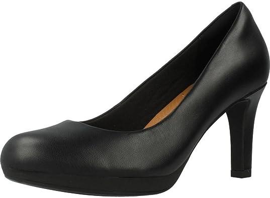 asesinato virar Críticamente  Clarks Adriel Viola, Zapatos de Tacón Mujer: Amazon.es: Zapatos y  complementos