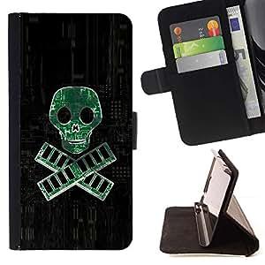 Momo Phone Case / Flip Funda de Cuero Case Cover - PC RAM pirata - Geek Tech;;;;;;;; - Sony Xperia Z3 Compact