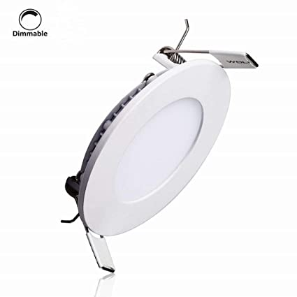 Amazon Com Lain 6w 4 Inch Led Panel Light Dimmable Round