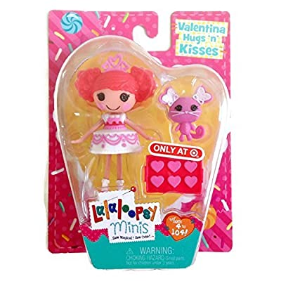 Lalaloopsy Minis 2015 Valentines Day Target Exclusive - Valentina Hugs N Kisses: Toys & Games