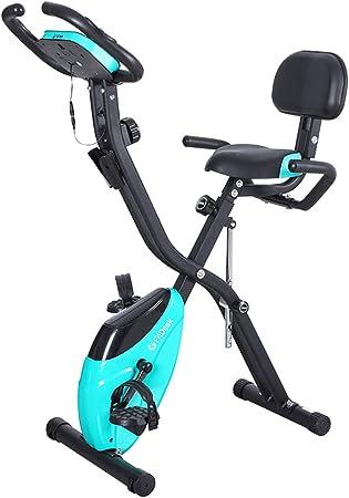 Bicicleta de ejercicio plegable con capacidad de 150 kg ...