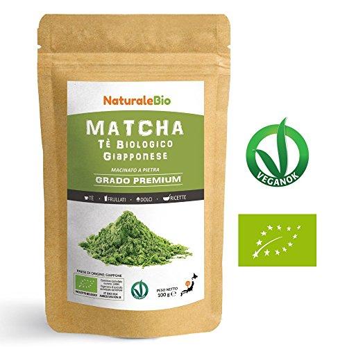 Japanese Organic Matcha Green Tea Powder [ Premium Grade ] 100 gr   Tea...