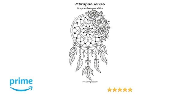 Atrapasueños libro para colorear para adultos 1: Volume 1: Amazon.es ...