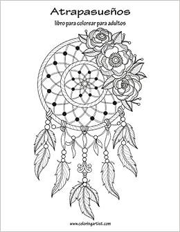 Amazon.com: Atrapasueños libro para colorear para adultos 1