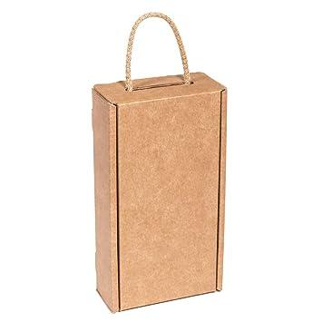 Kartox | Estuche de Cartón para 2 Botellas de Vino | Estuche ...