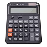 Fityle Calculator Offices Shop Big Number Display 14-digit Calculator Standard Function Desktop Calculator Black