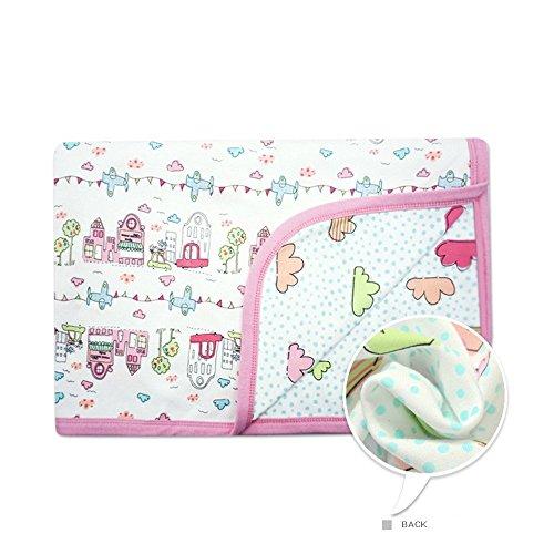 Castle Blanket (CuteOn Baby/Toddler Girls/Boys Blanket - 09 Castle)
