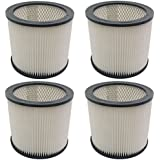 (4) Filter Cartridge for Shop Vac, 90304, 9030400, 903 04 00, 903 04 Wet Dry H12