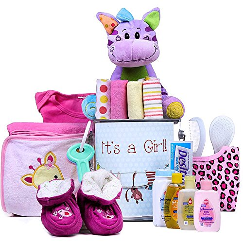 It's a Girl Gift Basket by Gift Basket