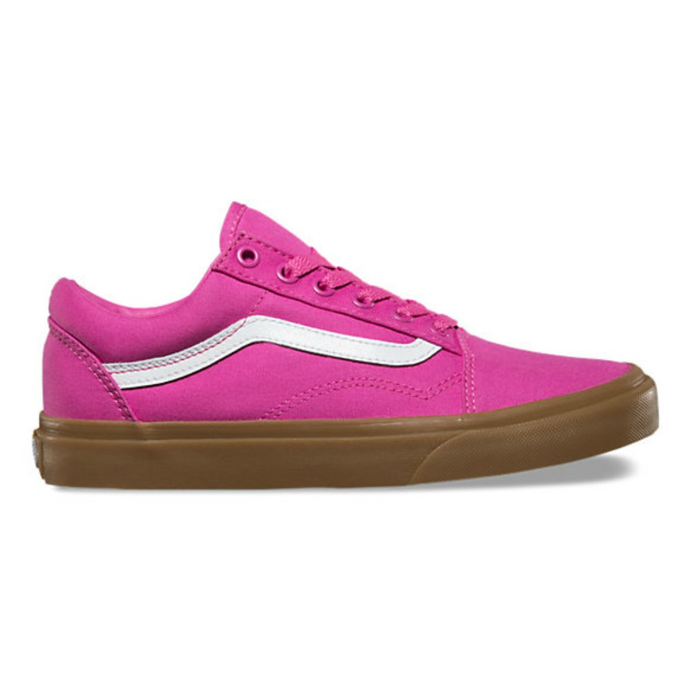 827cf4dff117 Vans Old Skool Womens Size 9.5 Mens Size 8 Raspberry Rose Light Gum   Amazon.co.uk  Shoes   Bags