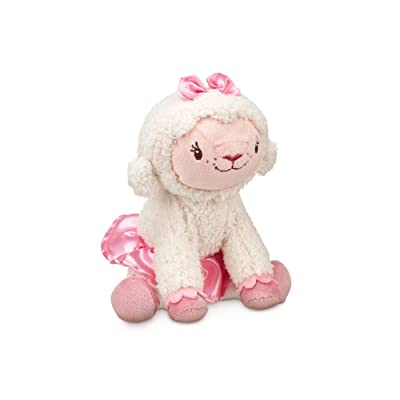 "Disney Jr. Doc McStuffins Lambie 7"" Plush: Toys & Games"