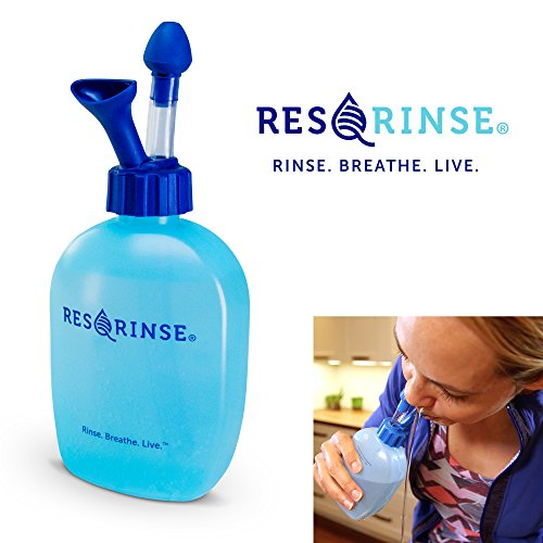 Res-Q-Rinse Nasal Rinse System - The New Neti Pot - Sinus Irrigation Without The Gag