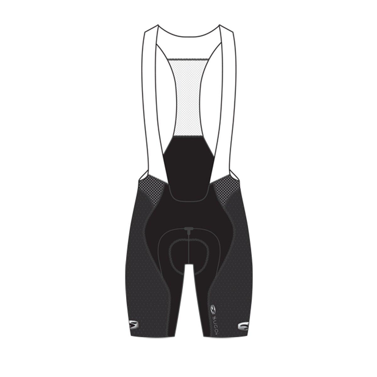 (キャノンデール / スゴイ)SUGOi サイクルパンツ RSE ビブショーツ B01CDD3G48 X-Large|ブラック ブラック X-Large